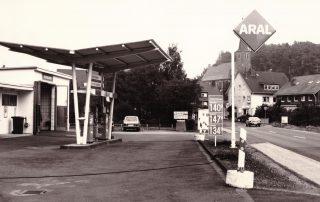 Tankstelle alt
