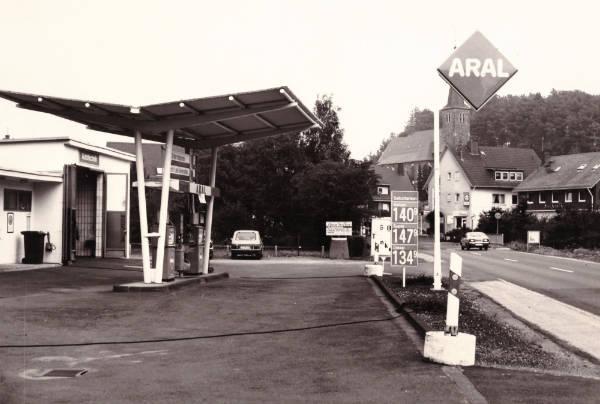 Tankstelle Alt Bild